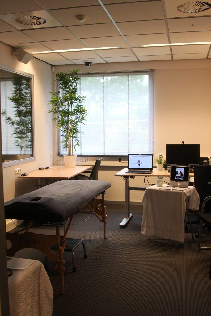 kantoorruimte omgetoverd tot massagepraktijk